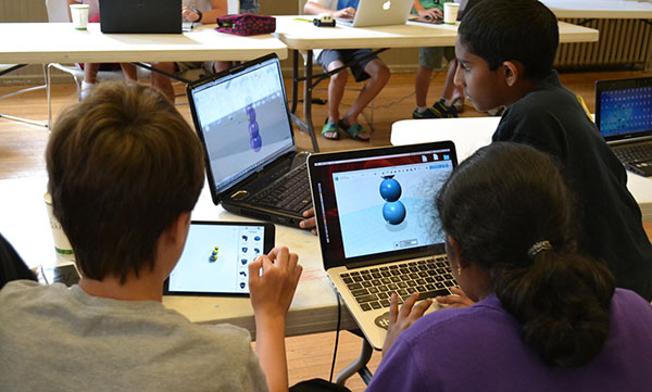 Modern robotics summer camp 3D design